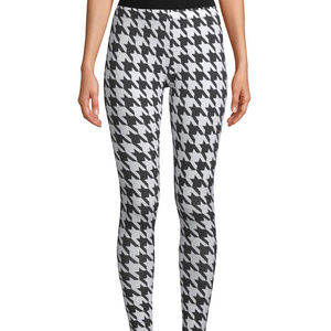 Women's Ankle Leggings Houndstooth Size 2XL (19)